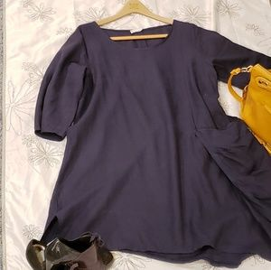 Made in Italy unstructured dress EUC OS